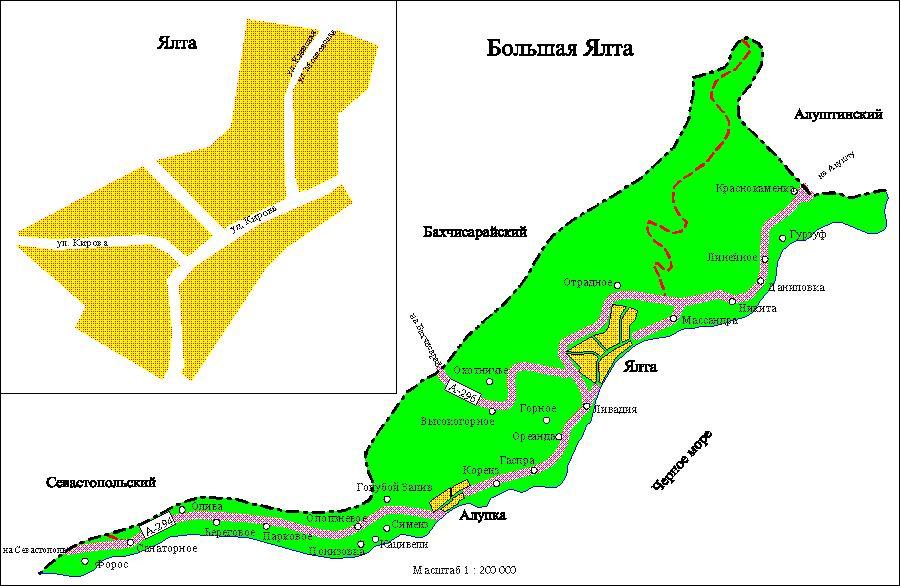 Карты Саки  Саки на карте Крыма карта города
